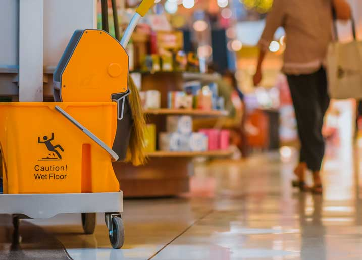 retail cleaning company bristol